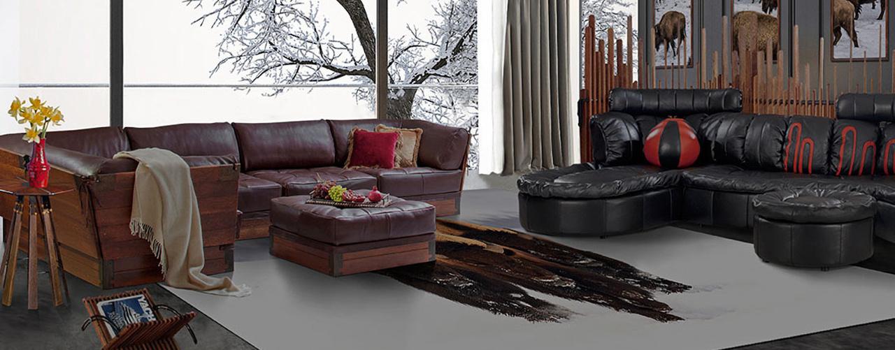 Модульный диван холл