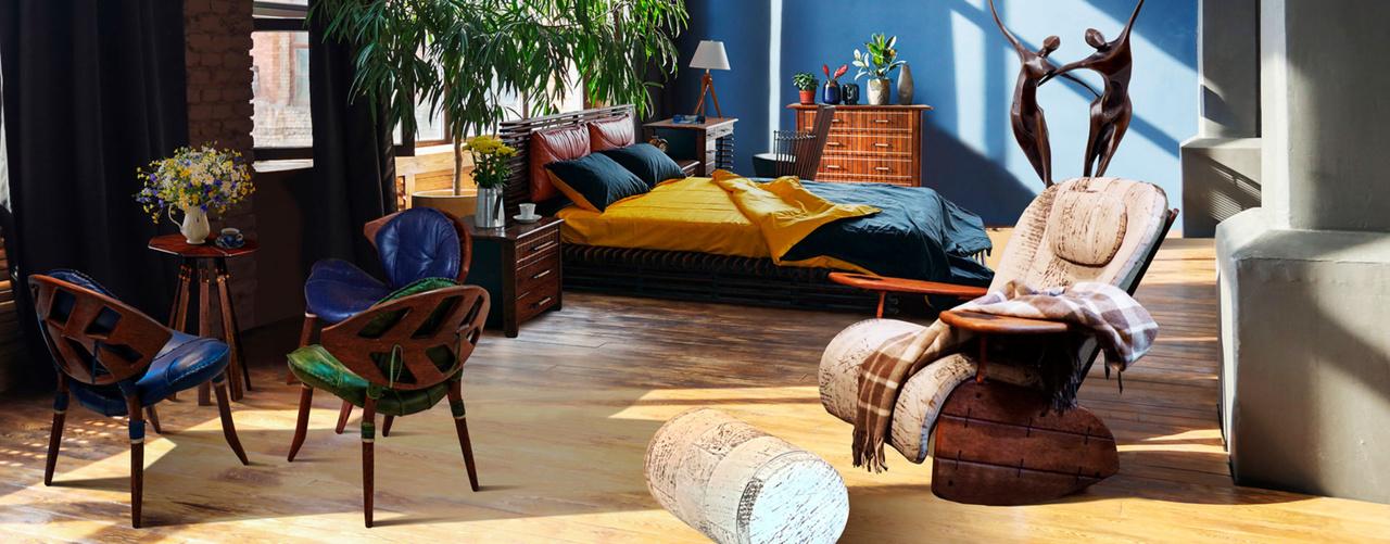Шезлонги и кровати для дома